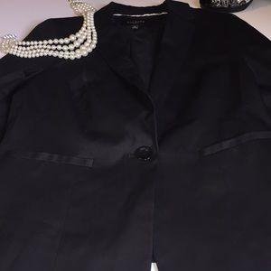 EUC Black Talbots blazer sz4P